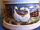 Ducks/Geese Canister Set. Collectible, Revolves. in Conroe, Texas
