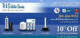 Water Softeners. Sell,Service and Install in Bellaire, Texas
