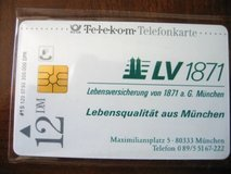 "Collector's Phone Card ""Lebensqualitaet aus Muenchen"" (DM) Pre EURO in Baumholder, GE"