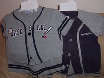 Boys Size 6 Month Summer 2 Piece Outfitss in Naperville, Illinois