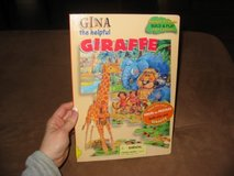 Gina The Helpful Giraffe Puzzle Story Board Book in Kingwood, Texas