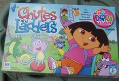 r-3 DORA EXPLORER CHUTES AND LADDERS GAME in Fort Hood, Texas