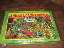 Animals of the World Jigsaw Puzzle Book NEW in Kingwood, Texas