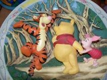2 Tigger Roo Piglet Winnie the Pooh collectibles in Westmont, Illinois