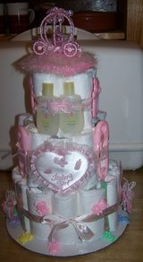 BABY DIAPER CAKES. BABY SHOWER. in Fort Hood, Texas