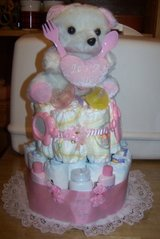 BABY GIRL DIAPER CAKES BABY SHOWER in Fort Hood, Texas