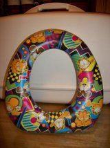 #2010 GARFIELD CHILD POTTY TRAINING SEAT - $8 in Fort Hood, Texas