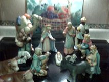 Vintage Hummel Nativity set 1964 to 1972 in Cherry Point, North Carolina