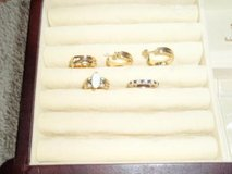 Women's size 5.5 rings in Camp Lejeune, North Carolina