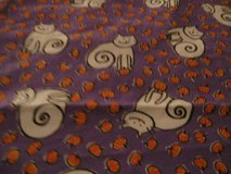 Handmade Halloween Cat Blanket 1 left. in Fort Bragg, North Carolina