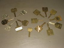 Assorted Hotel Keys in St. Charles, Illinois