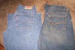 boys sz. 18 reg. jeans(2 prs.) in Fort Campbell, Kentucky